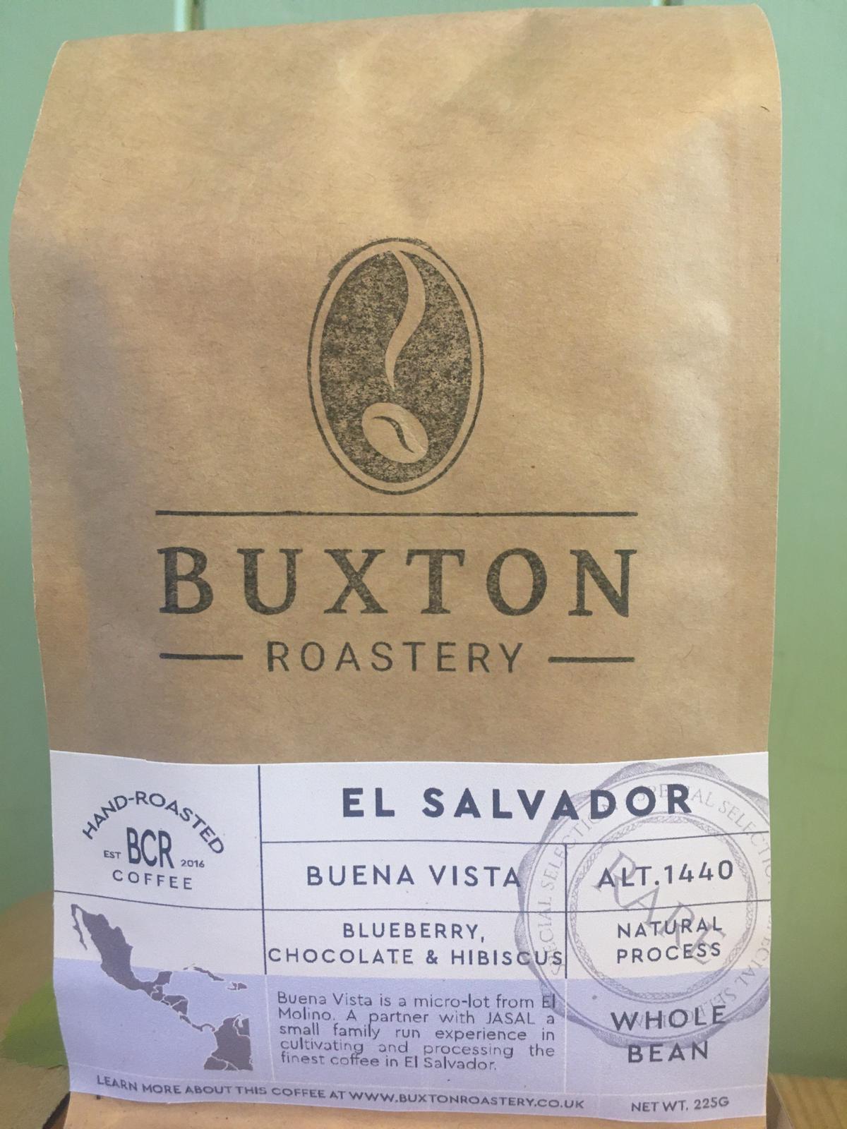 Buxton Roastery Coffee - El Salvador Buena Vista 225g