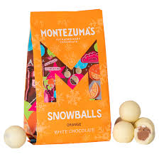 Montezuma's Snowballs - Orange White Chocolate 150g