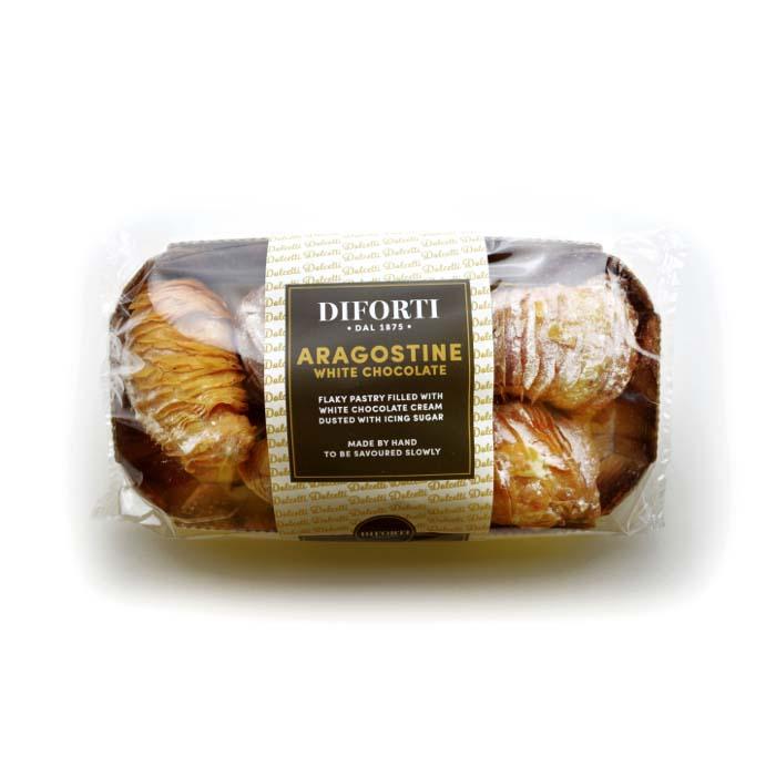 Diforti Pastries - Aragostine White Chocolate  150g