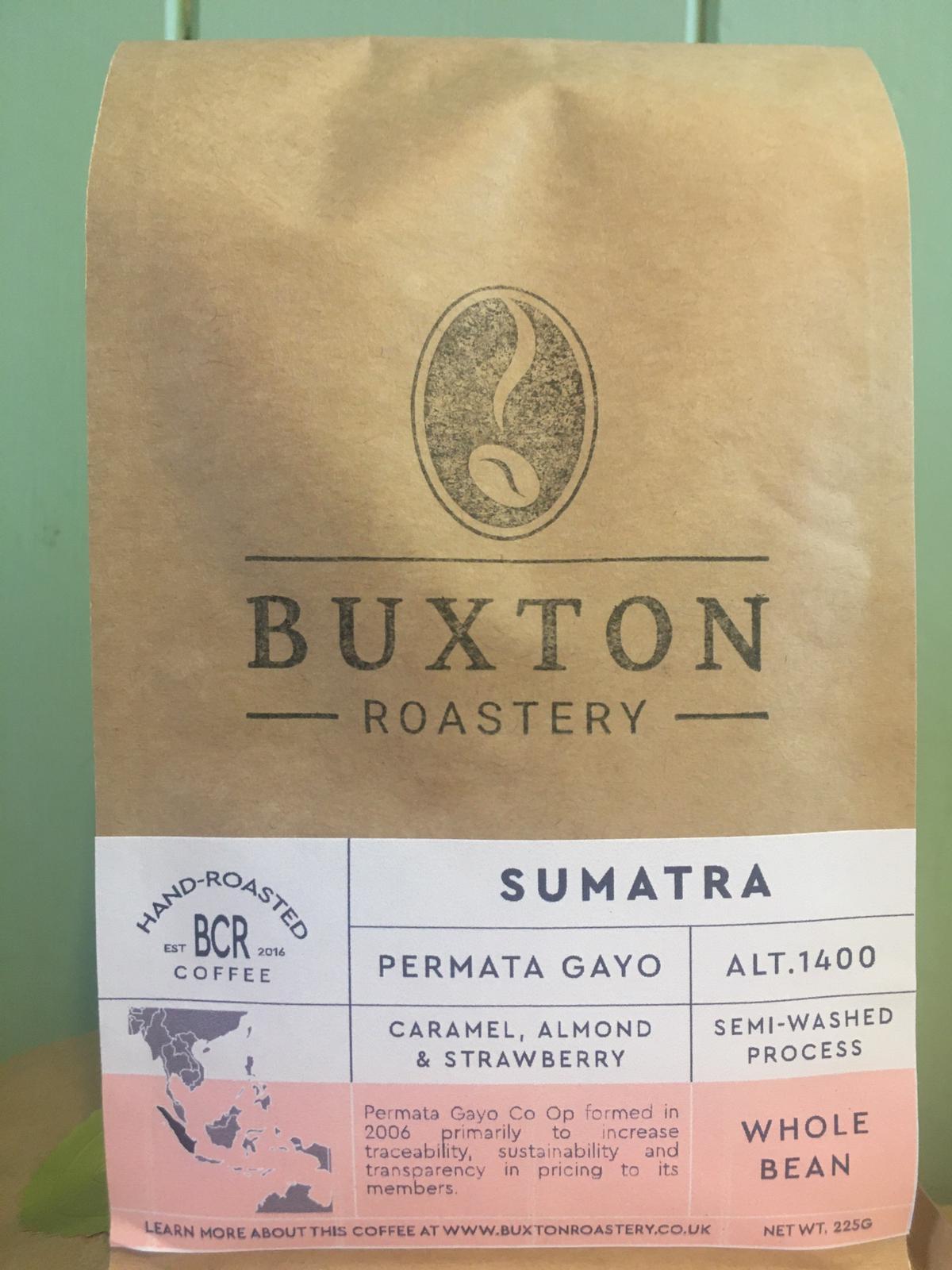 Buxton Roastery Coffee - Sumatra Permata Gayo 225g