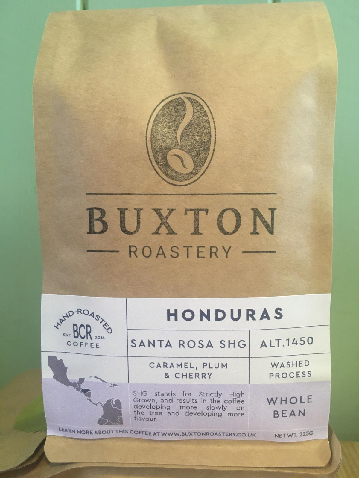 Buxton Roastery Coffee -Honduras Santa Rosa SHG 225g