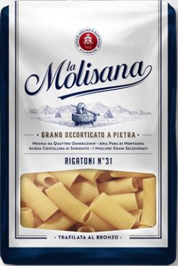 La Molisana Pasta Rigatoni No.31 500g