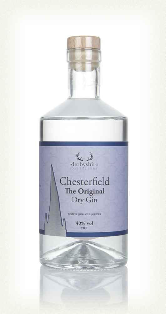 Derbyshire Distillery Chesterfield Gin - Original Dry Gin 20cl