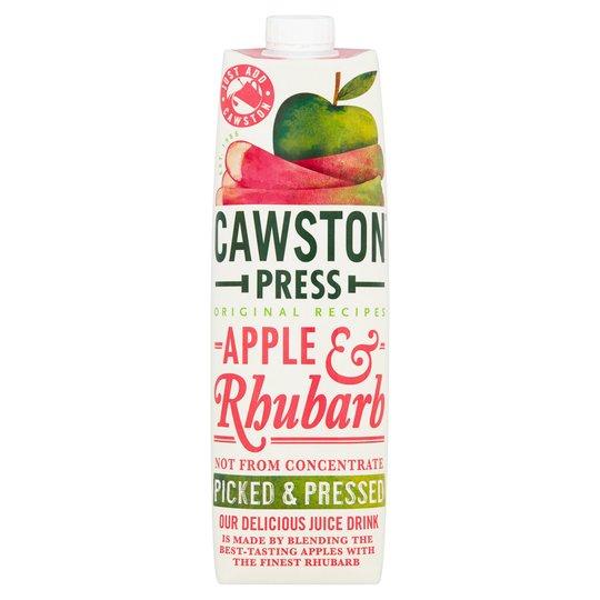 Cawston Press Juice- Apple & Rhubarb 1ltr