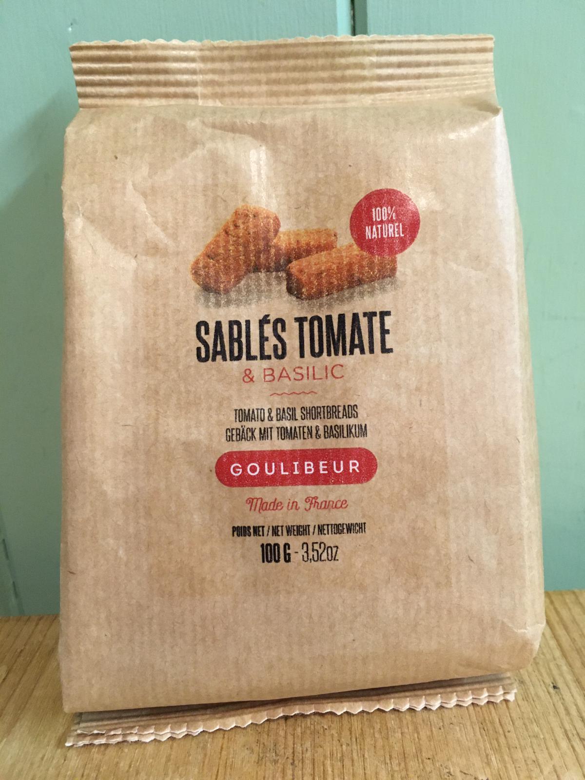 Goulibeur Sables (Shortbread Ingots)- Tomato 100g