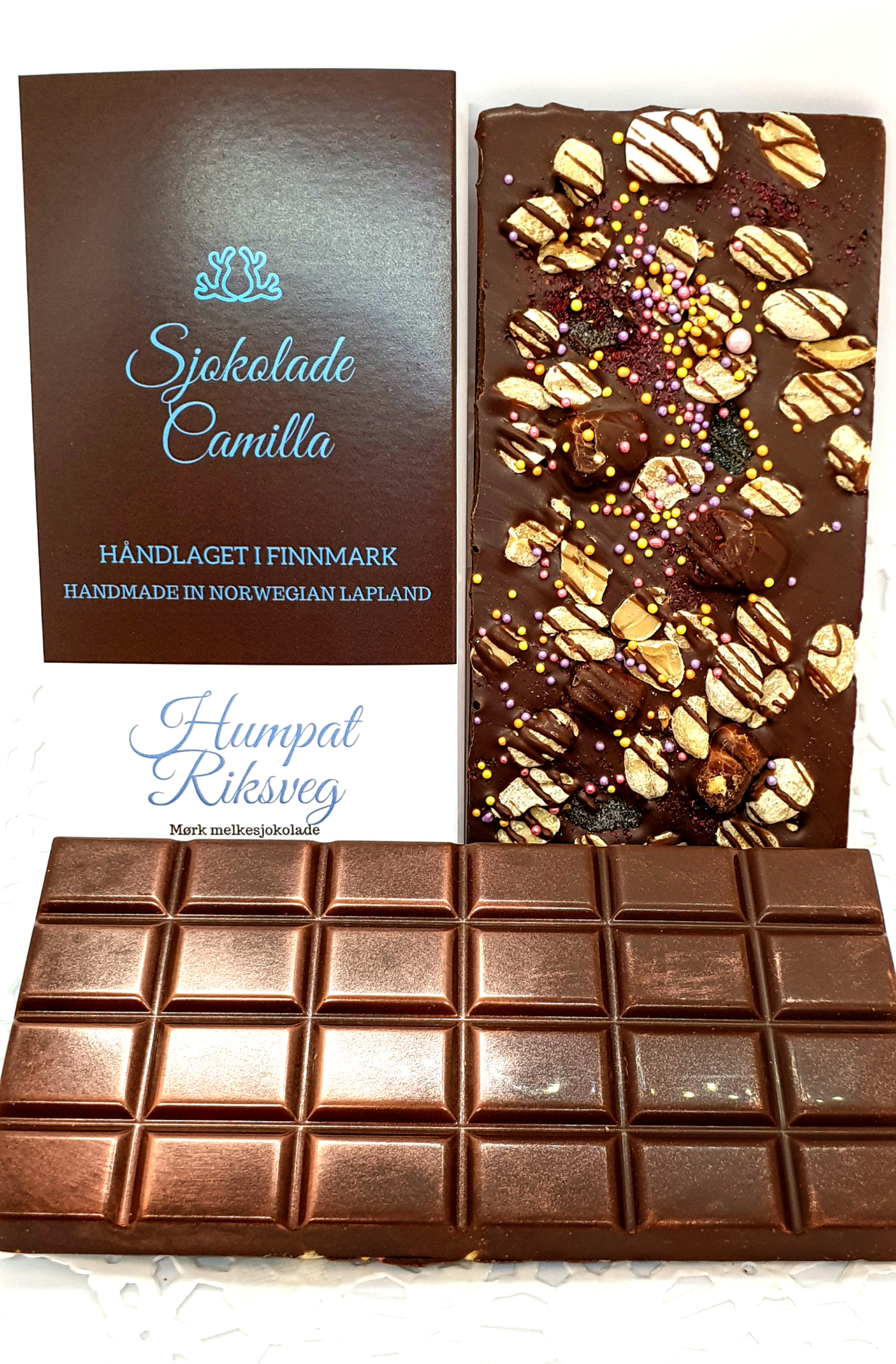 Humpat Riksveg sjokoladeplate 125 gr