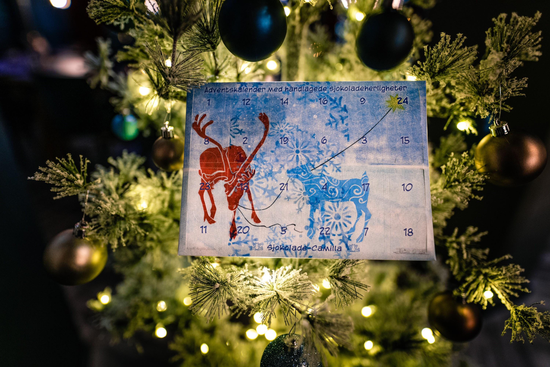 NB! Kun tilgjengelig ved henting/ levering i ALTA: Julekalender, 330 gram