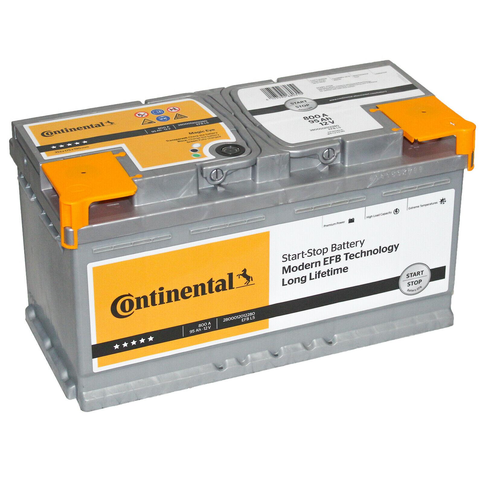 Continental Batteri 12V 95Ah 800A