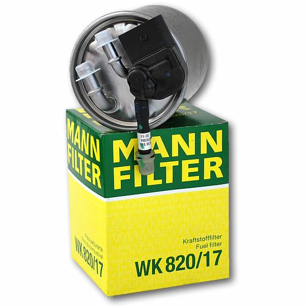 Mann Brændstoffilter BlueTEC, CDI 651-R4 motor 212 205 204 218 222 221