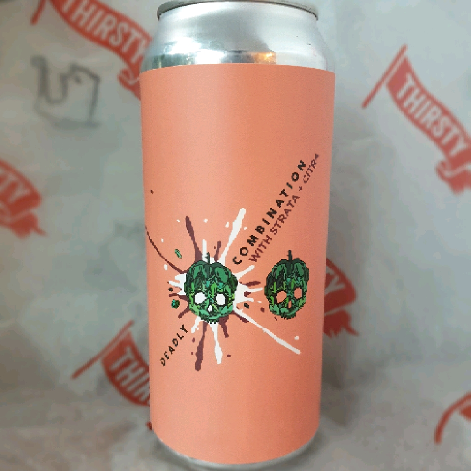 Barrier | Deadly Combination : Strata and Citra | IPA 7.4% 473ml