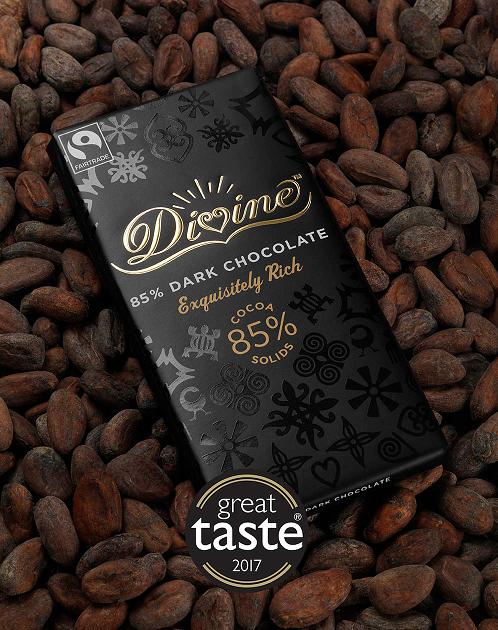 Divine 85% Dark Chocolate, 90g
