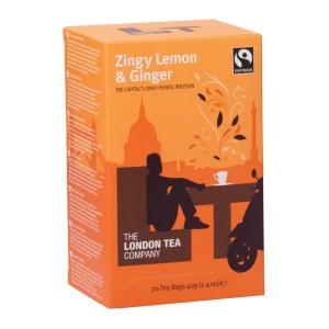 Zingy Lemon & Ginger, 20 poser