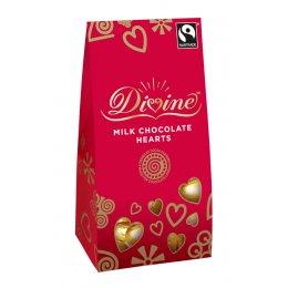 Hjerter i melkesjokolade, 80g