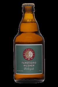 Økologisk Fanefjord Pilsner, øl, 1 stk., 33 cl. Fra Møns Bryghus