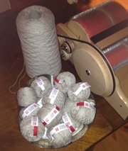 Moskus-Merinogarn fra Karen Qoornoq Knitwear, 40 gram