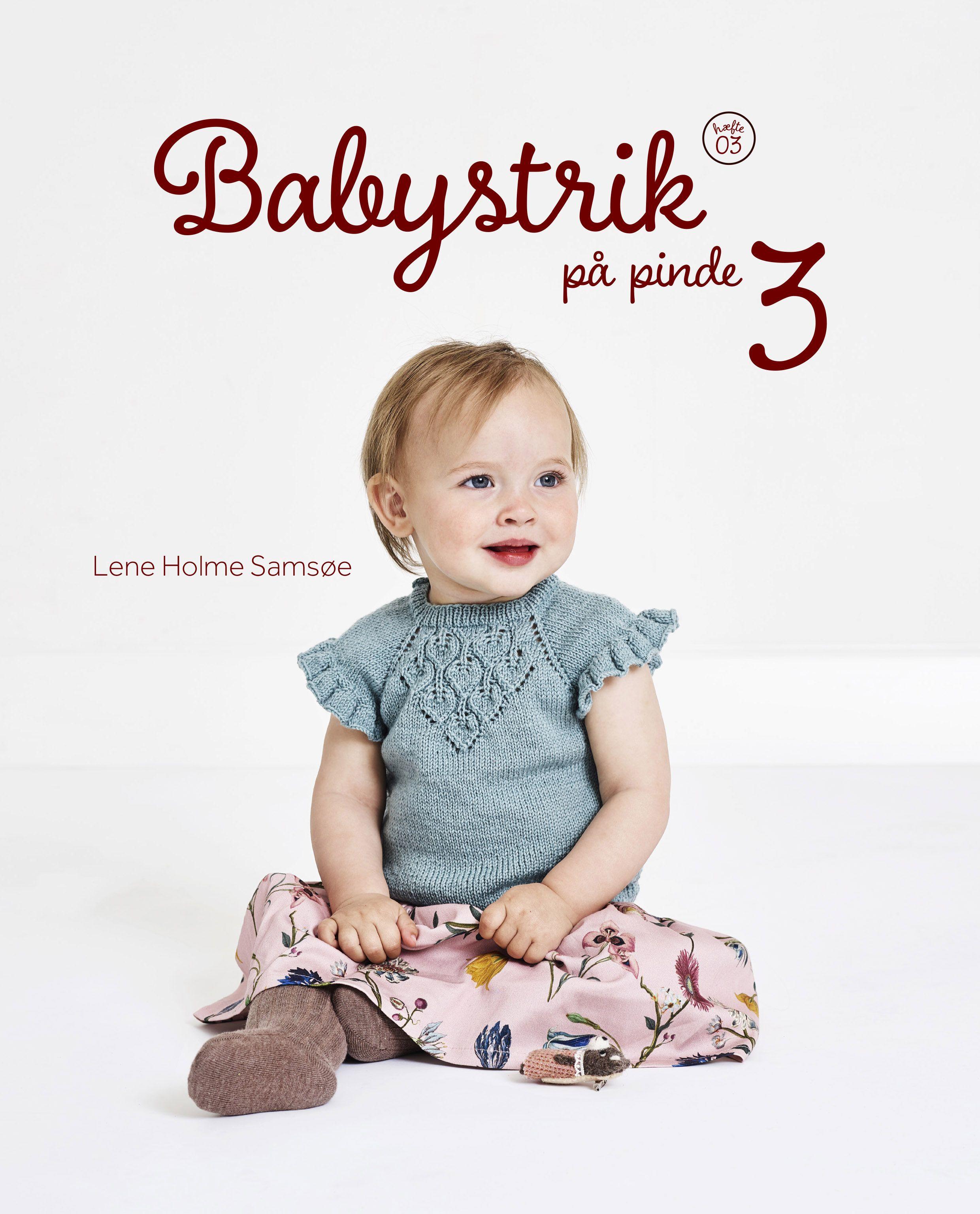 Babystrik på pinde 3 af Lene Holme Samsøe - 9788797064405