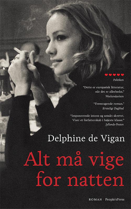 Alt må vige for natten, paperback af Delphine de Vigan