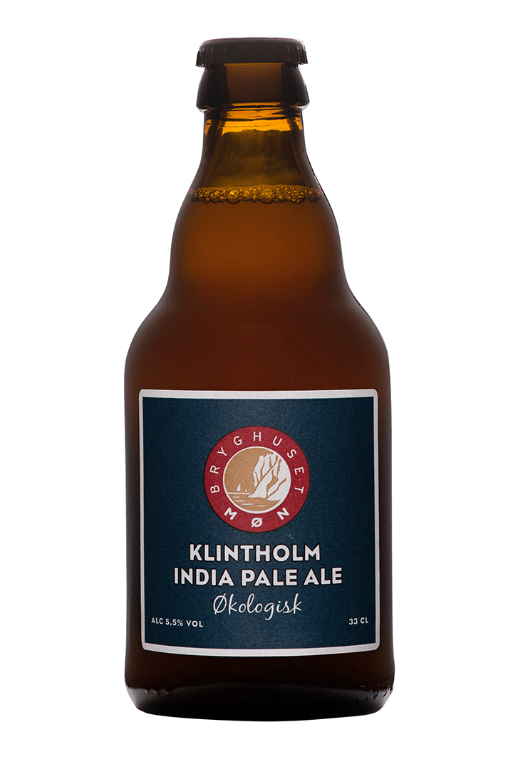 Økologisk Klintholm india Pale Ale, øl, 1 stk., 33 cl. Fra Møns Bryghus