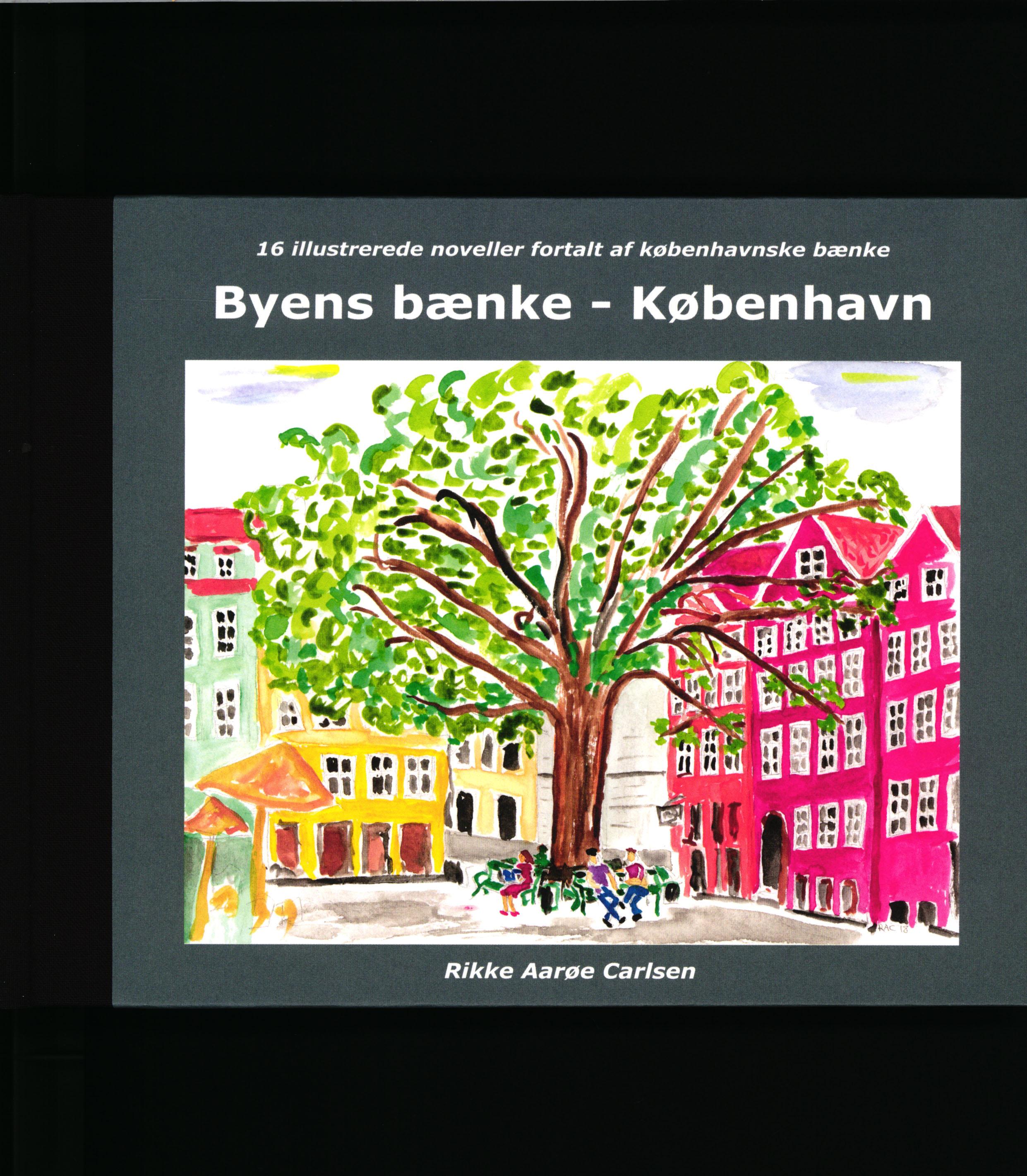 Byens bænke - København af Rikke Aarøe Carlsen