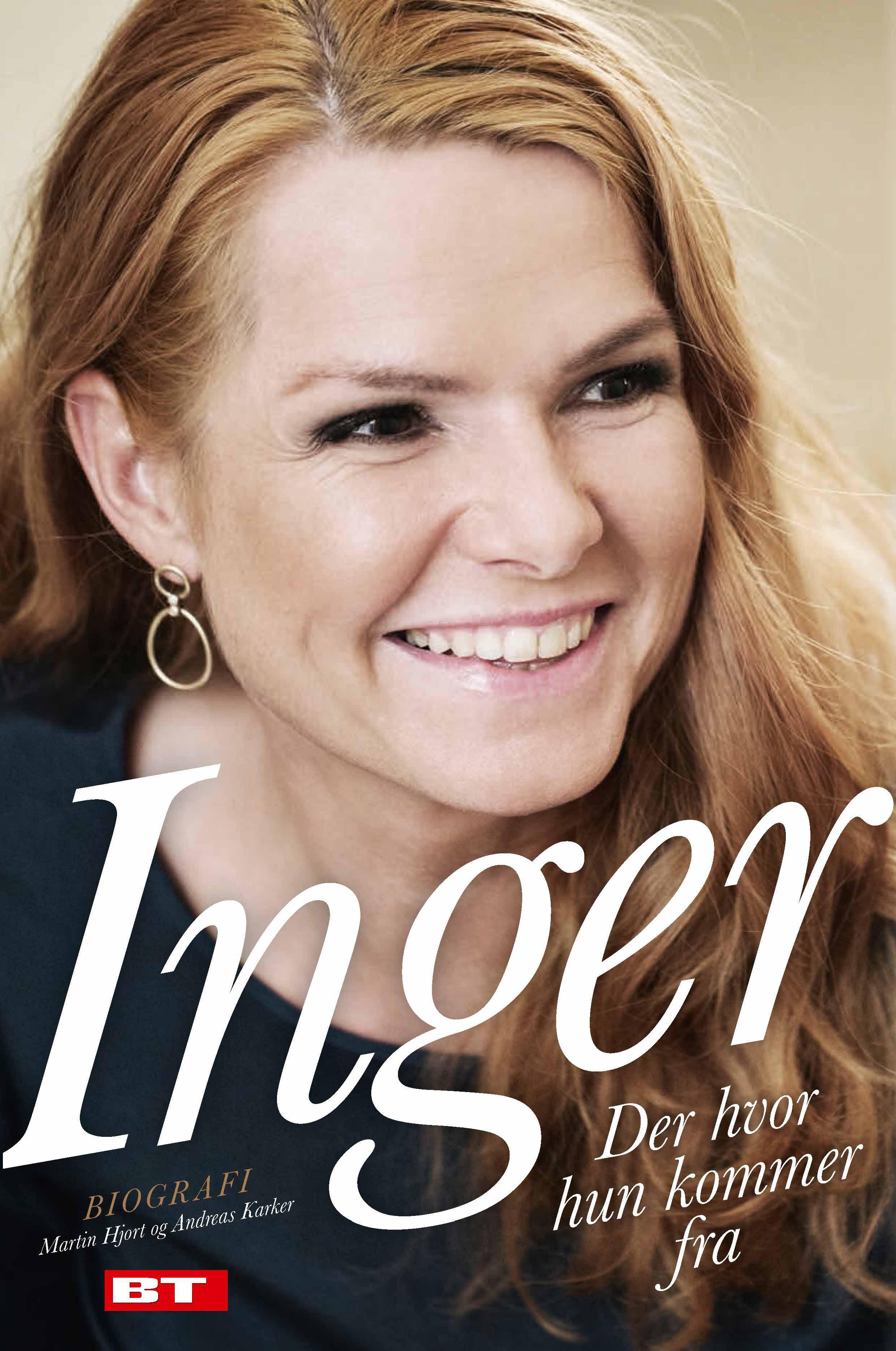 Inger - Der hvor hun kommer fra af Andreas Karker og Martin Hjort - 9788771802146