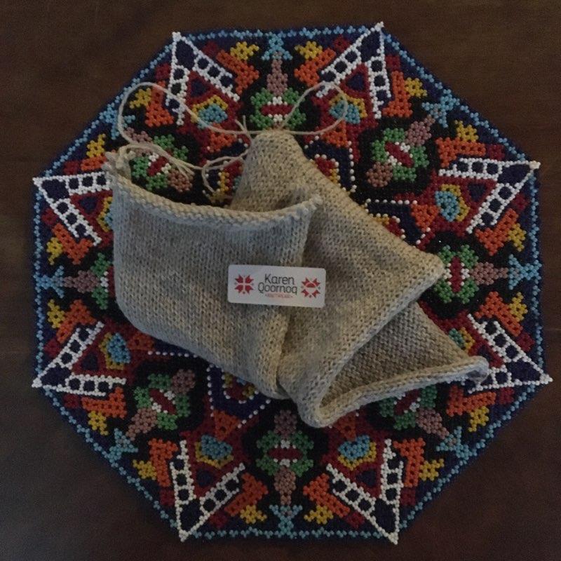 Moskus-Merinogarn fra Karen Qoornoq Knitwear, 100 gram