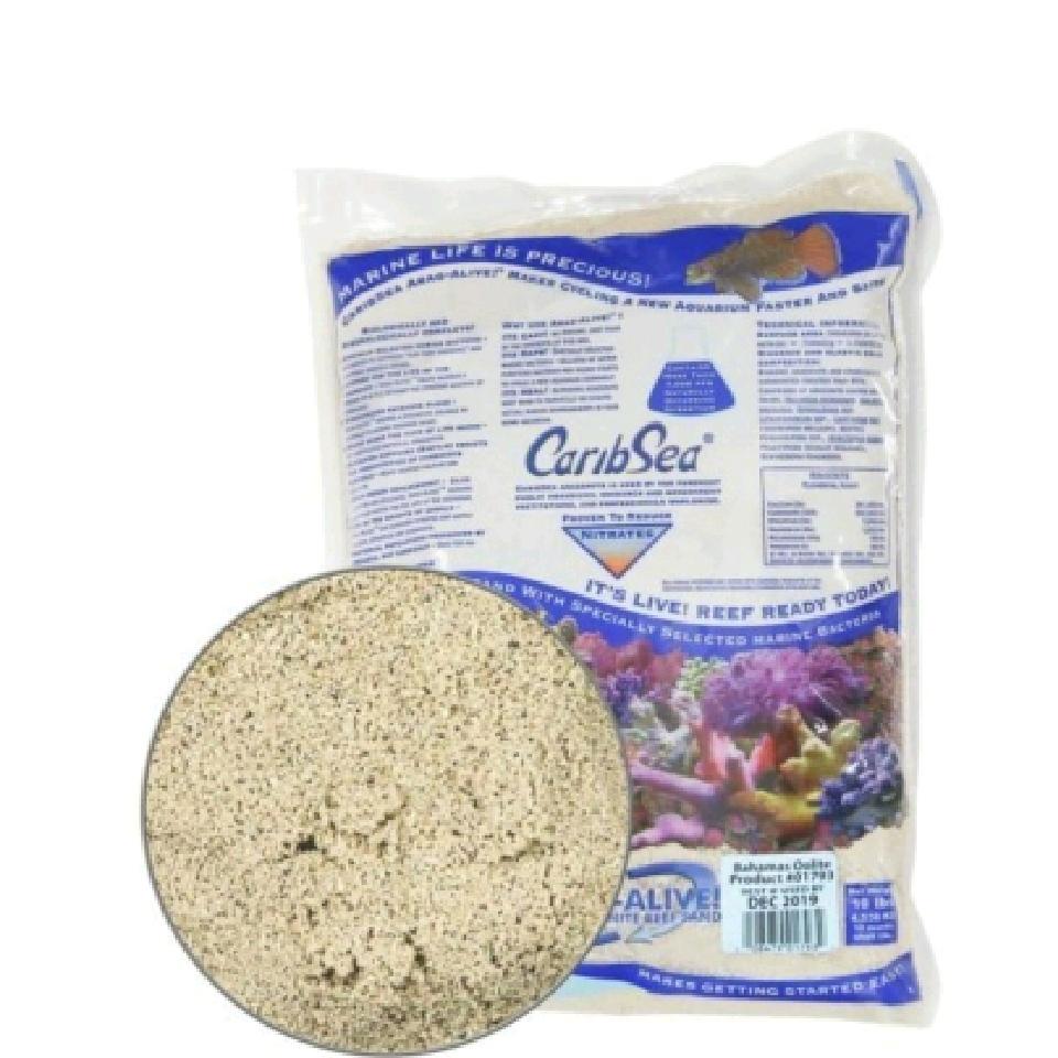 Caribsea bahamas oolite 9,07 kg  0-1 mm (Live Sand)