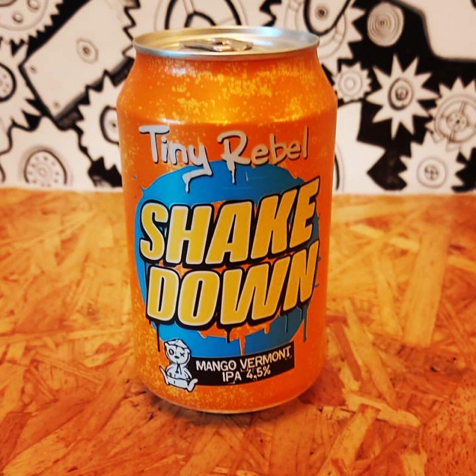 Tiny Rebel Shake Down Mango Vermont IPA 4.5%