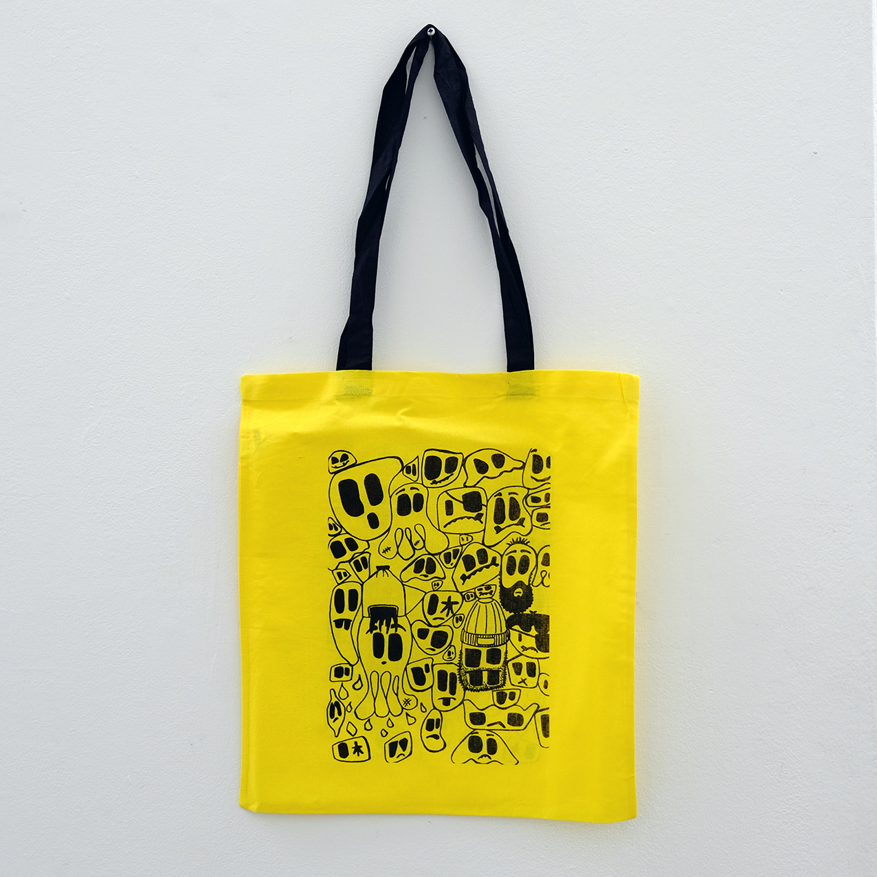 'Monster Fam' Tote by Andrew Kiwanuka