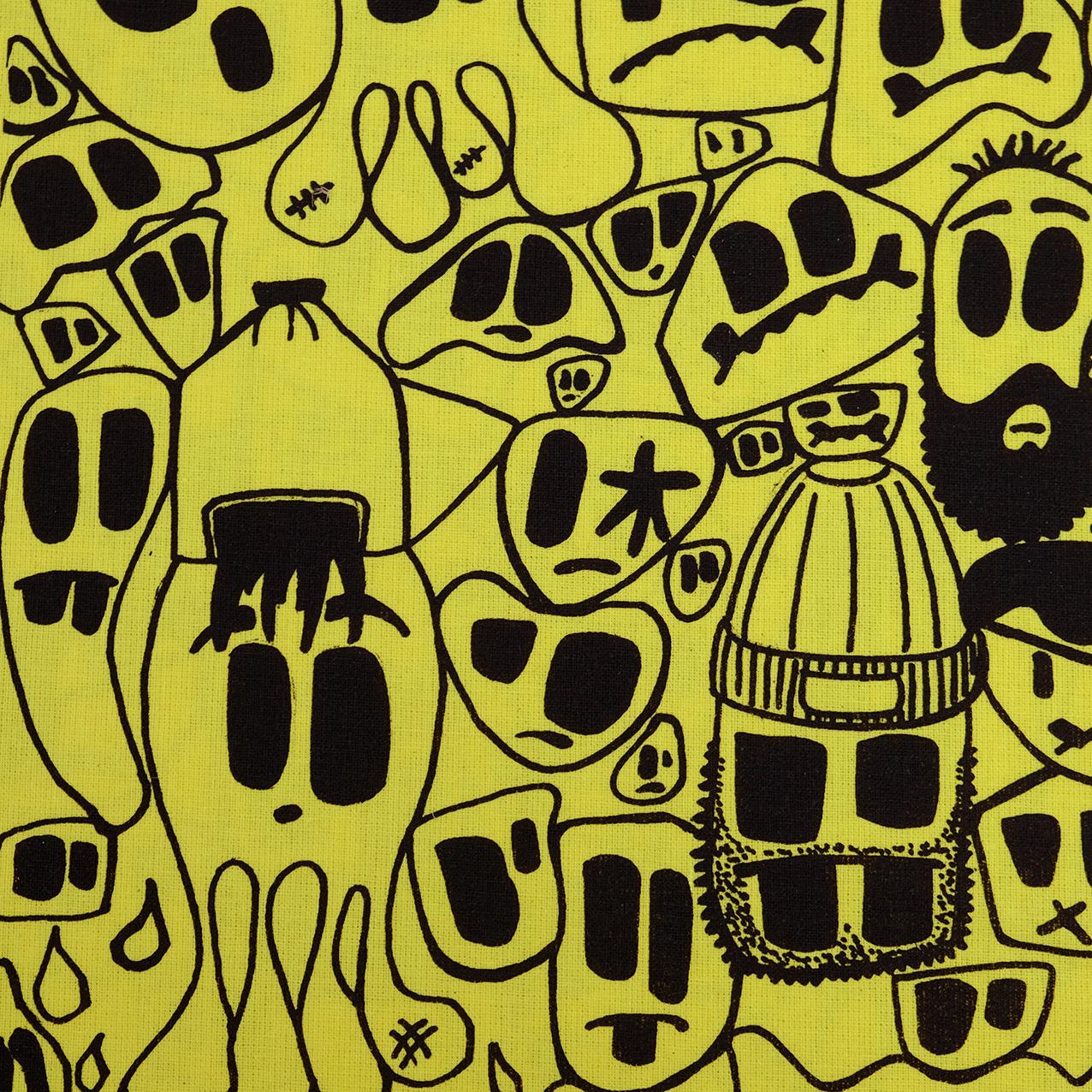 'Monster Fam' Tote by Andrew Kiwanuka