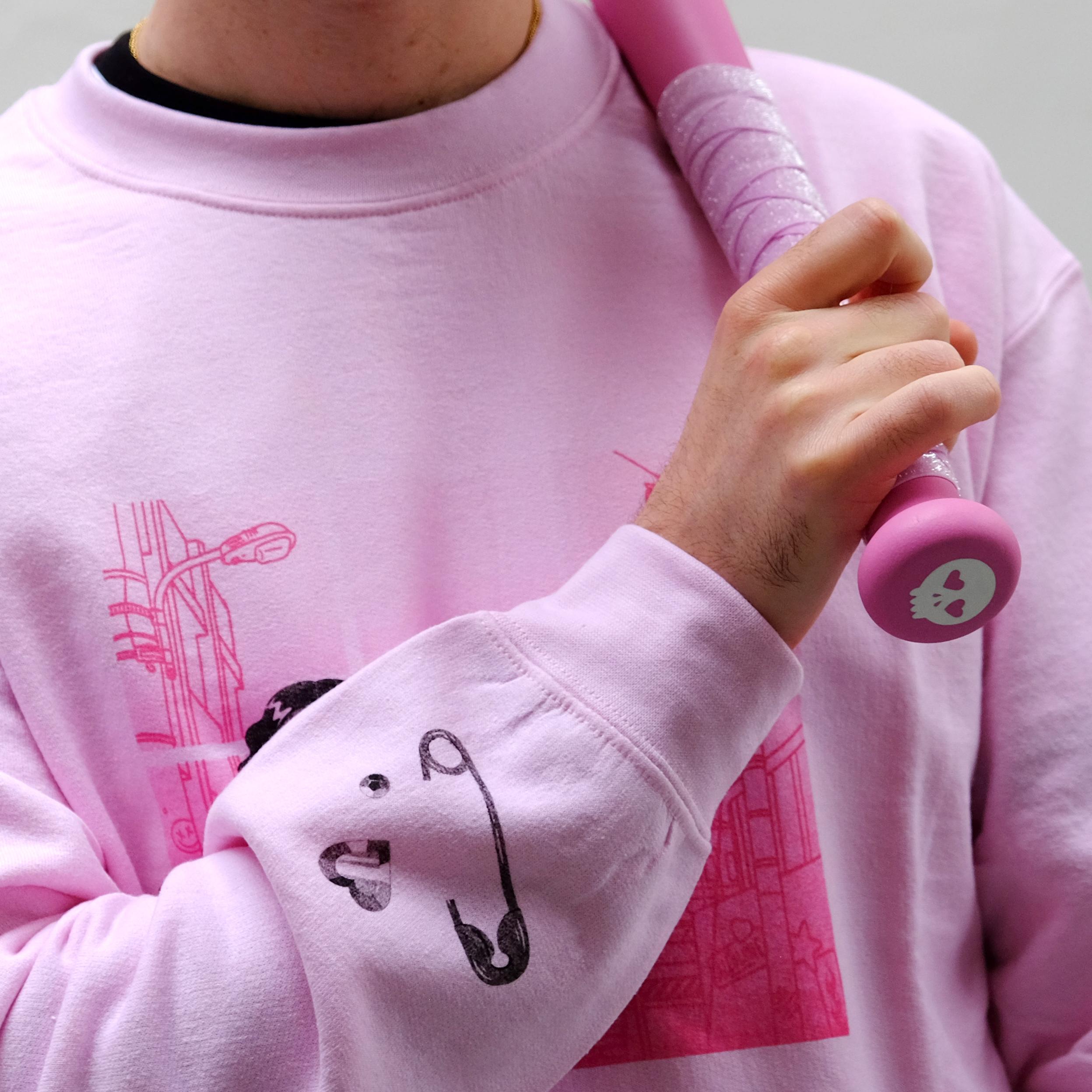 'K' Pink Sweater - Allolune