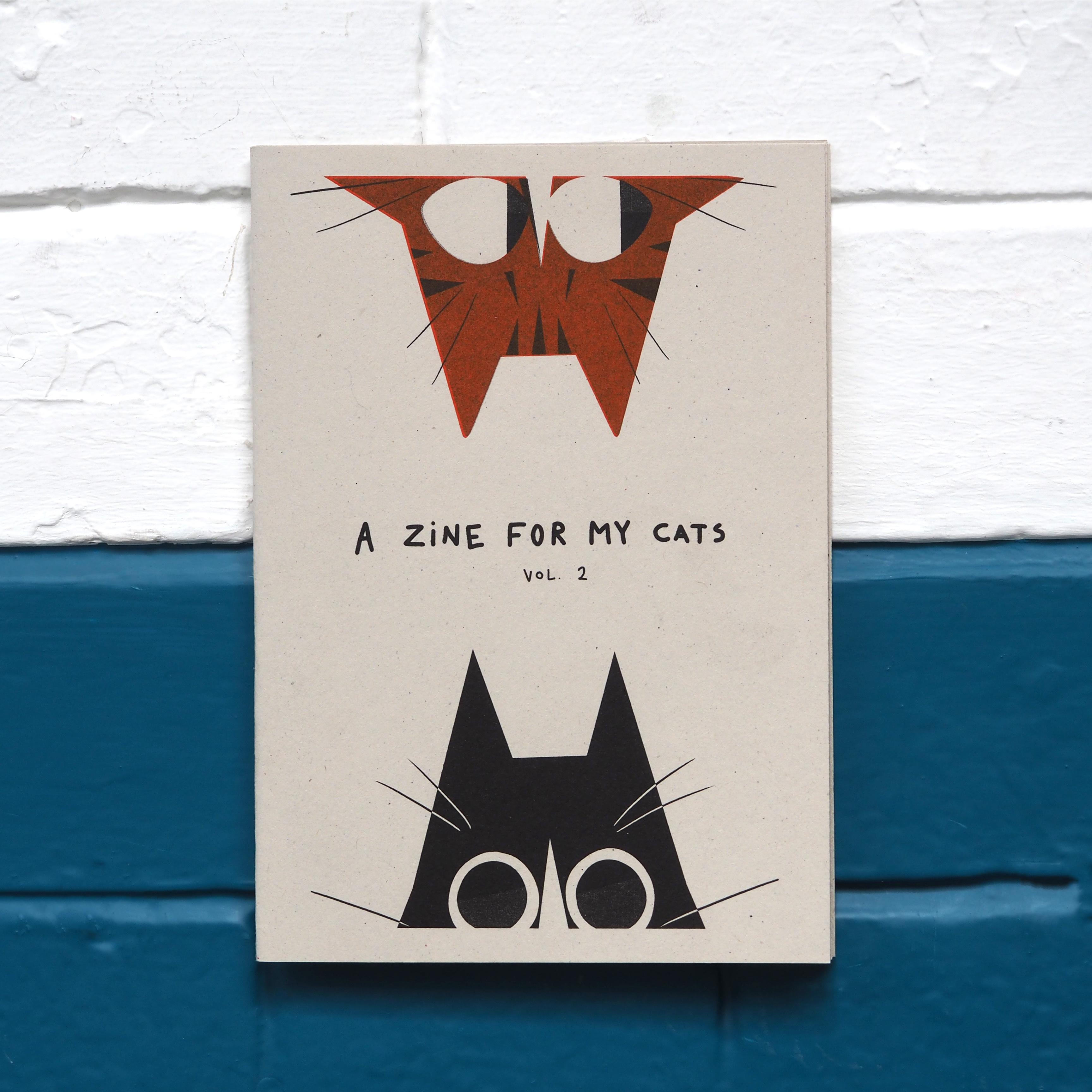 Zine for my Cats (vol. 2) - Sarah Mattison