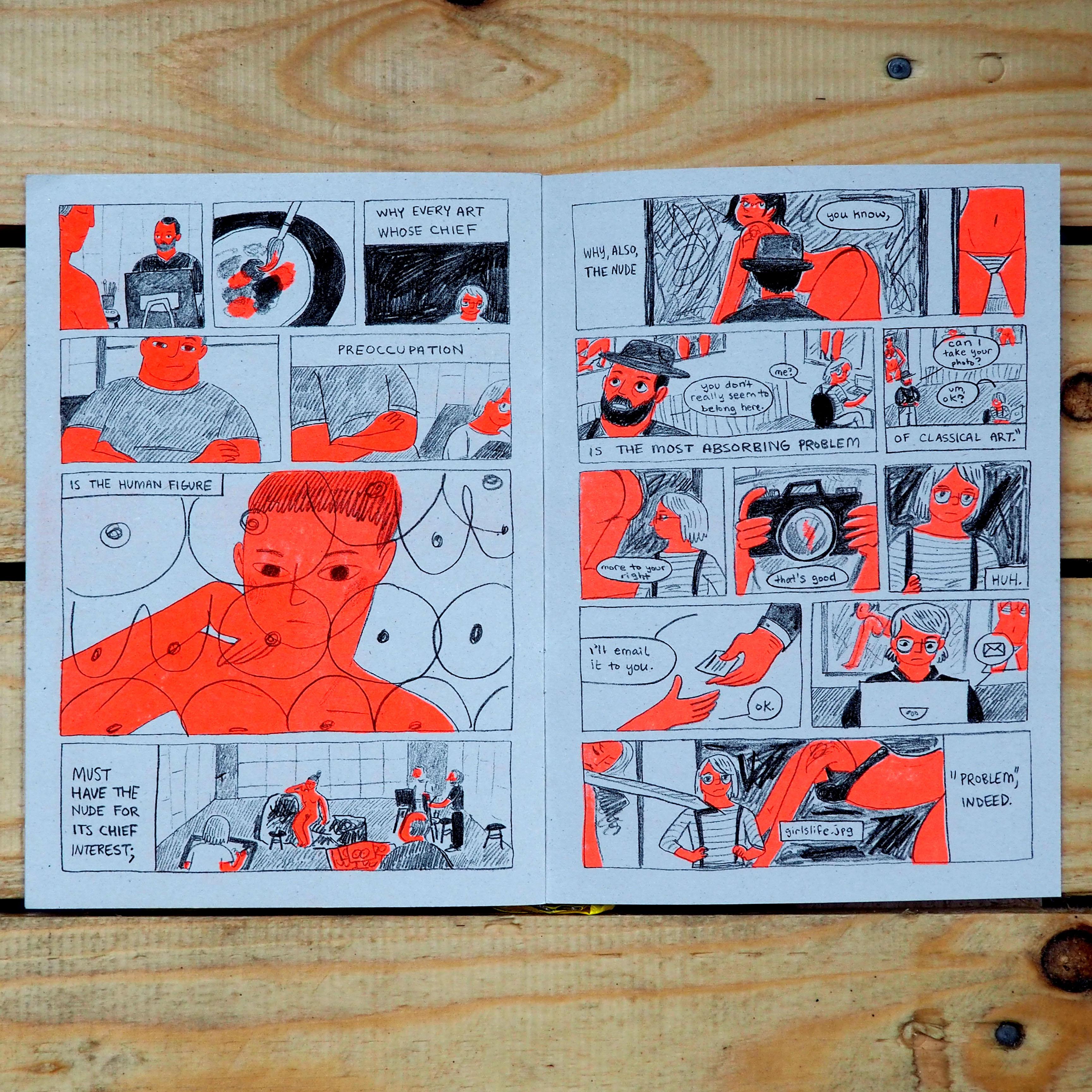 Figure in Art (School) - Maria Stoian
