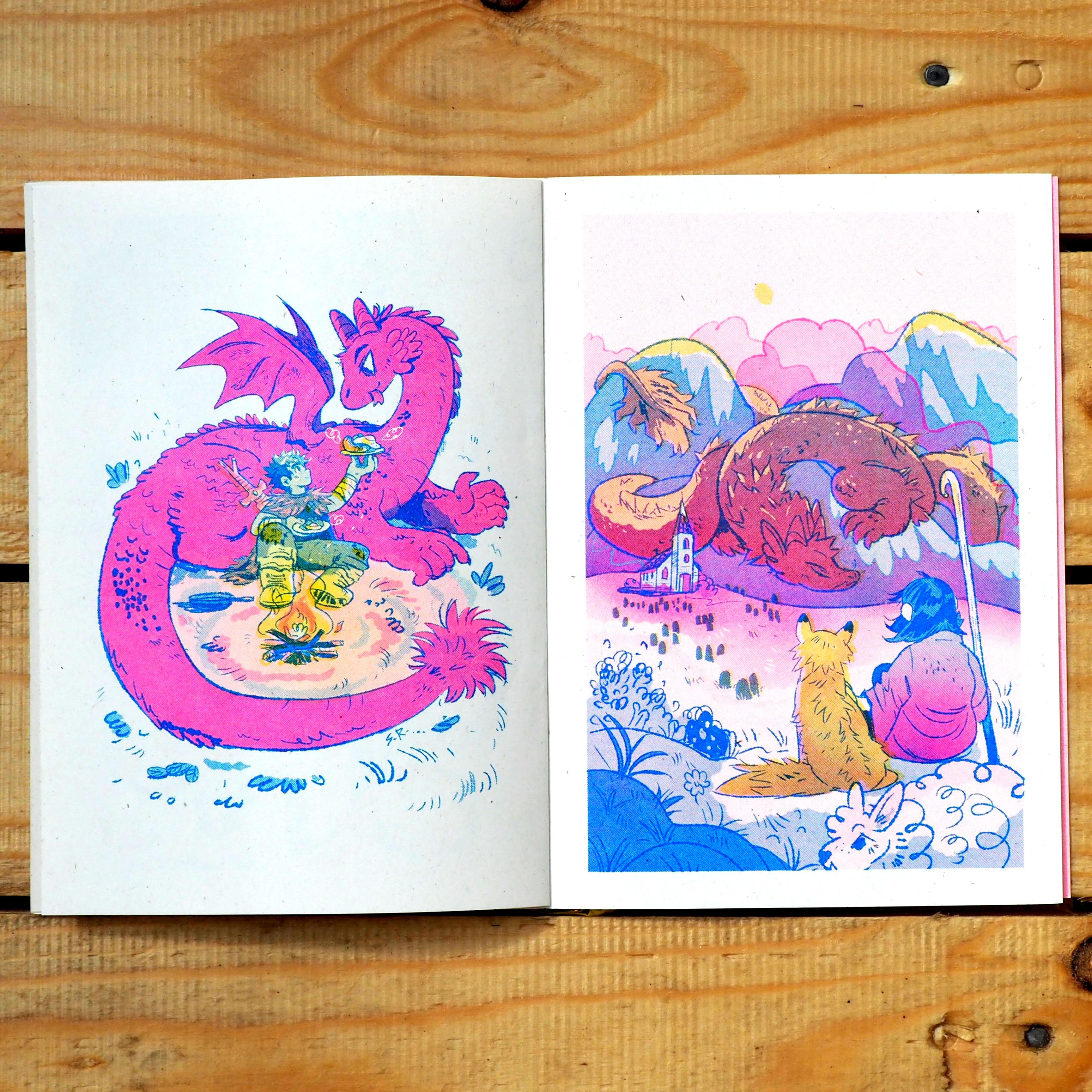 Pocket Book of Dragons - Sophie Robin
