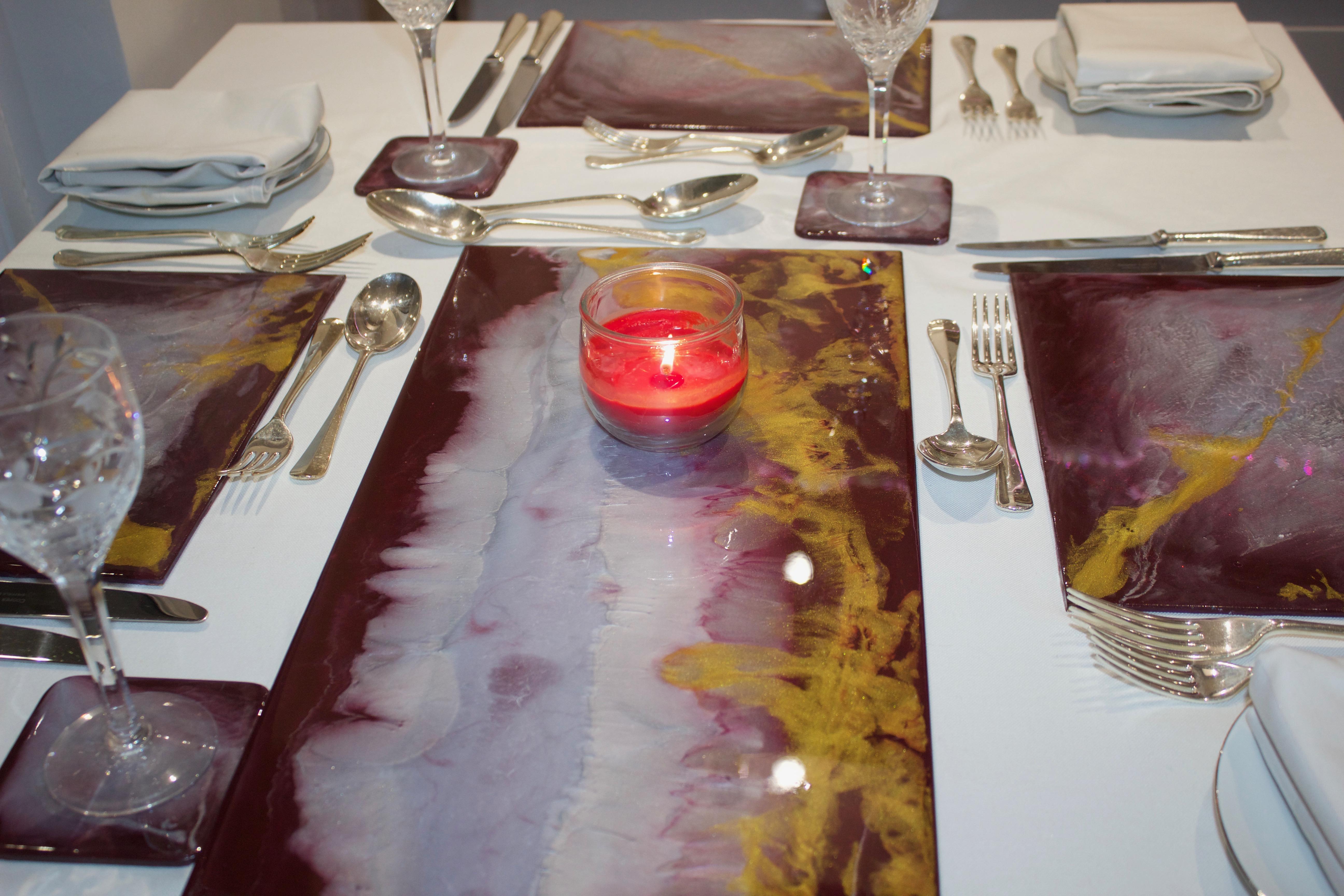 Tableware Burgundy