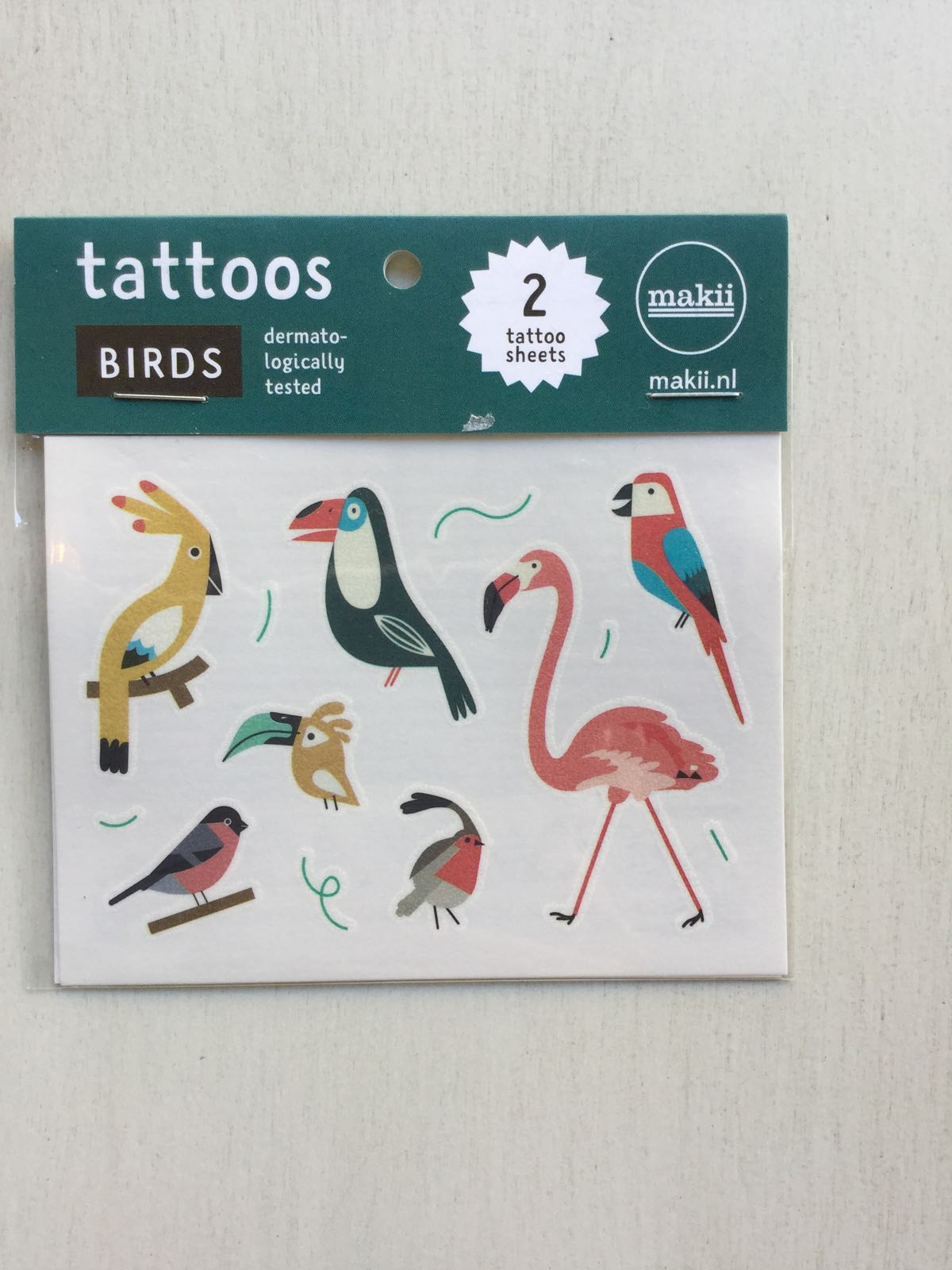 Makii - Tattoos - Birds
