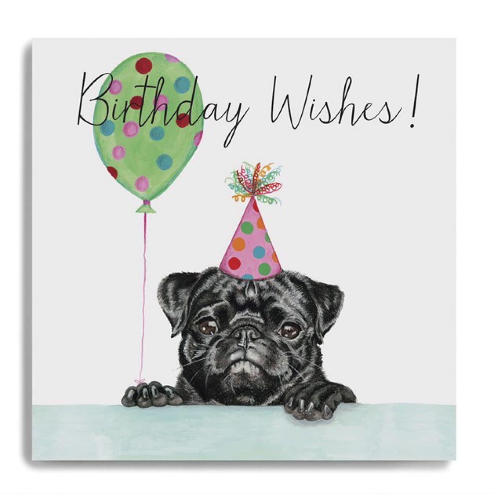 Janie Wilson birthday wishes card