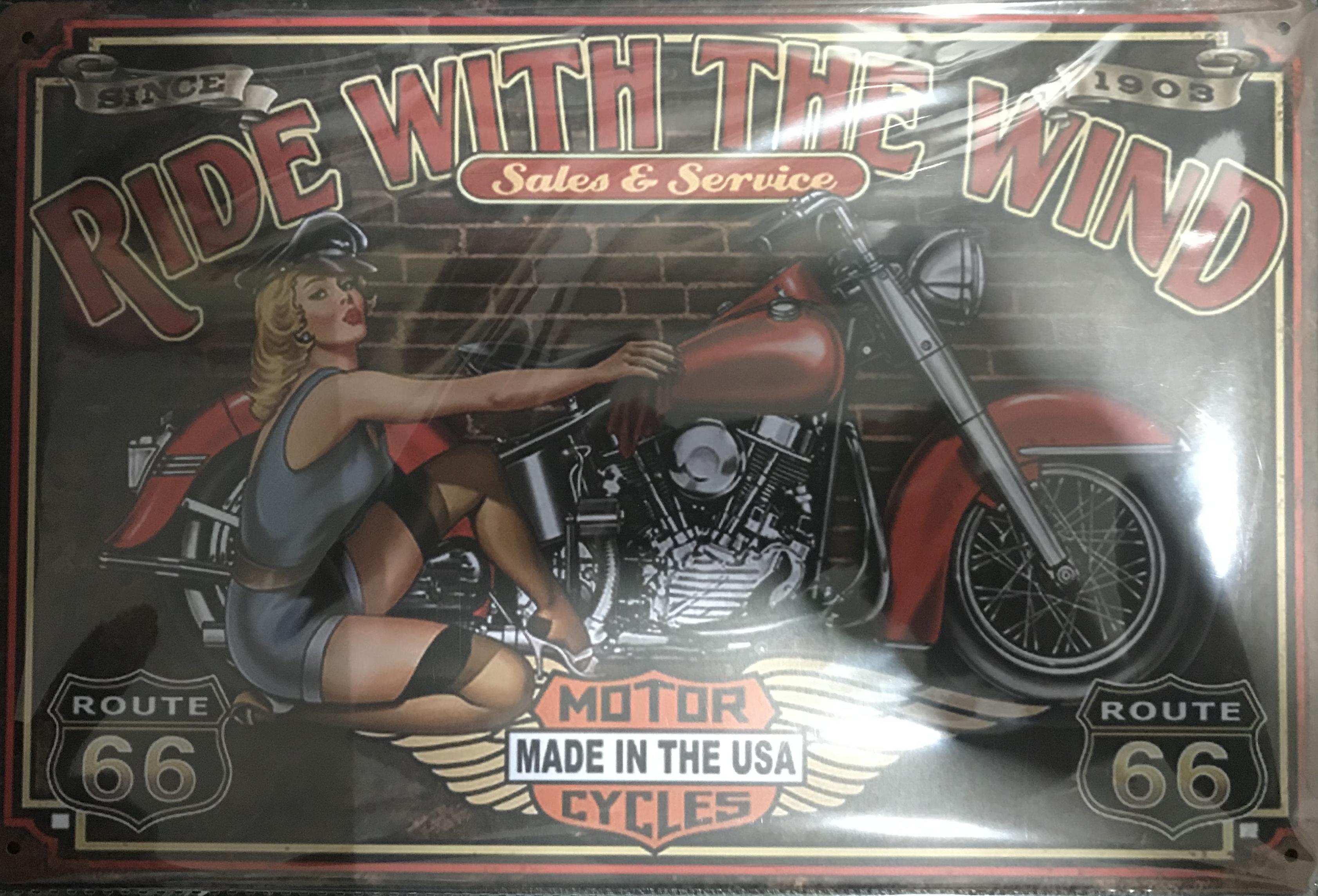 r. Garage Wall Sign
