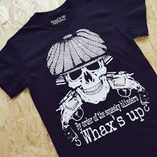 c. Whaxs Up Squeaky Blinders Tee Shirt