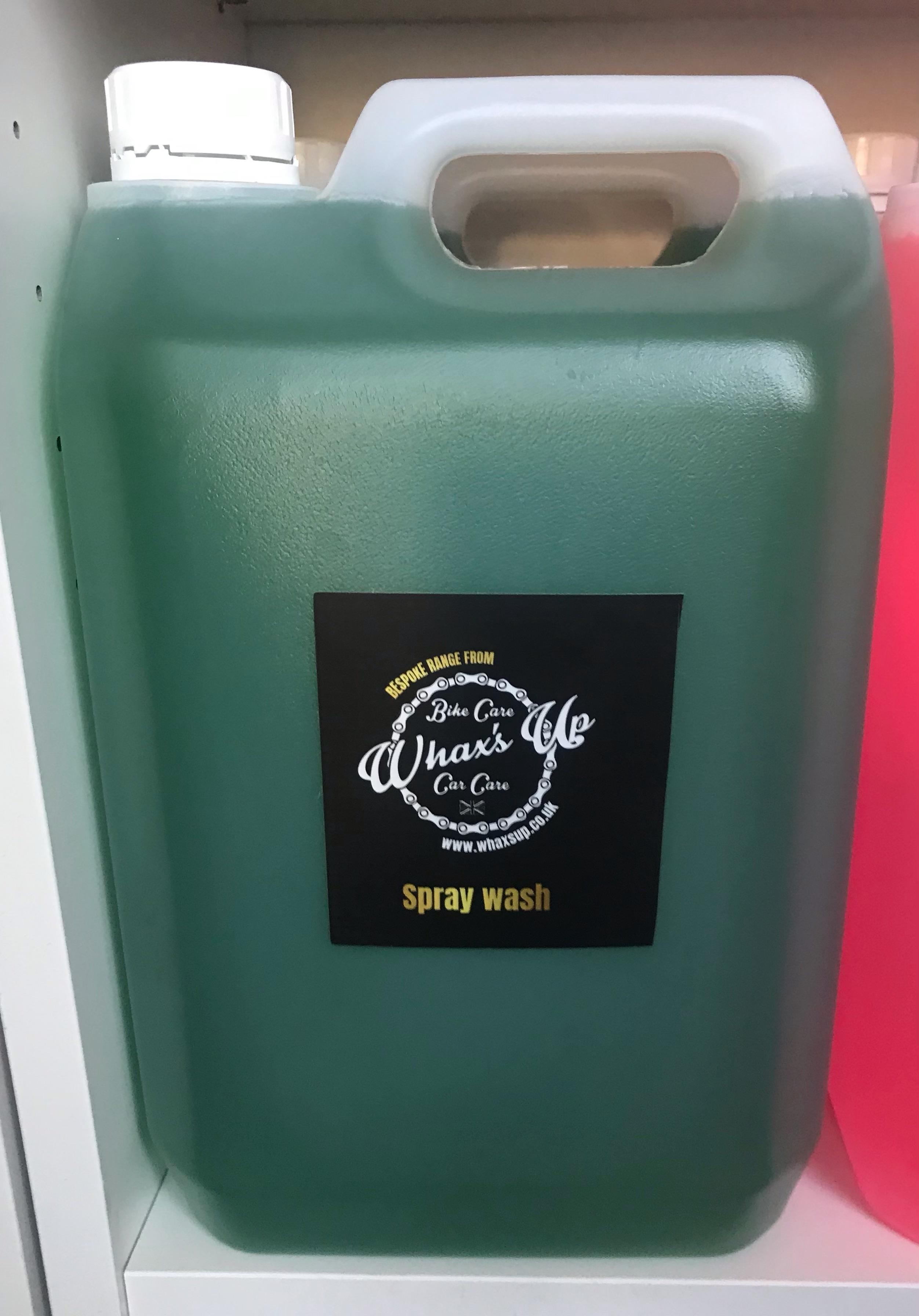 a. Spray Wash