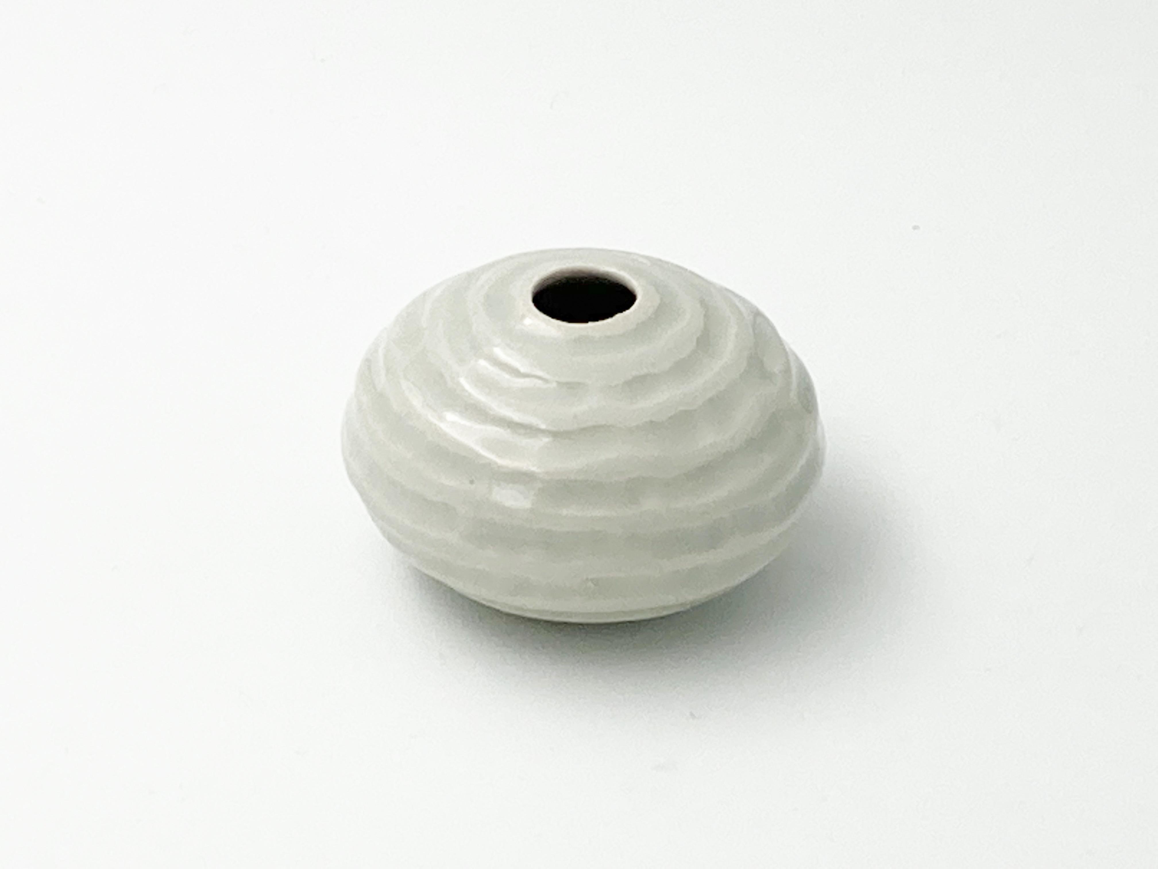 glazed mini pot