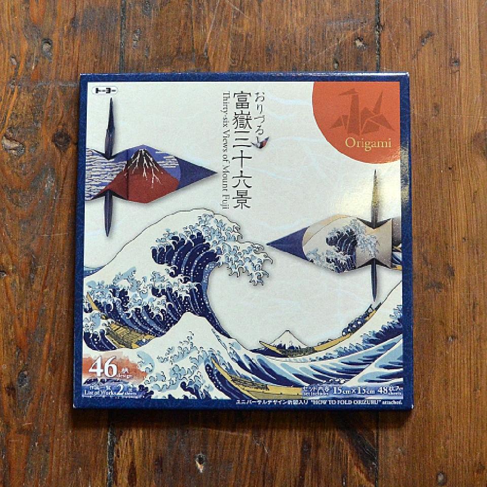 Origamipapper för tranor - 36 bilder av berget Fuji