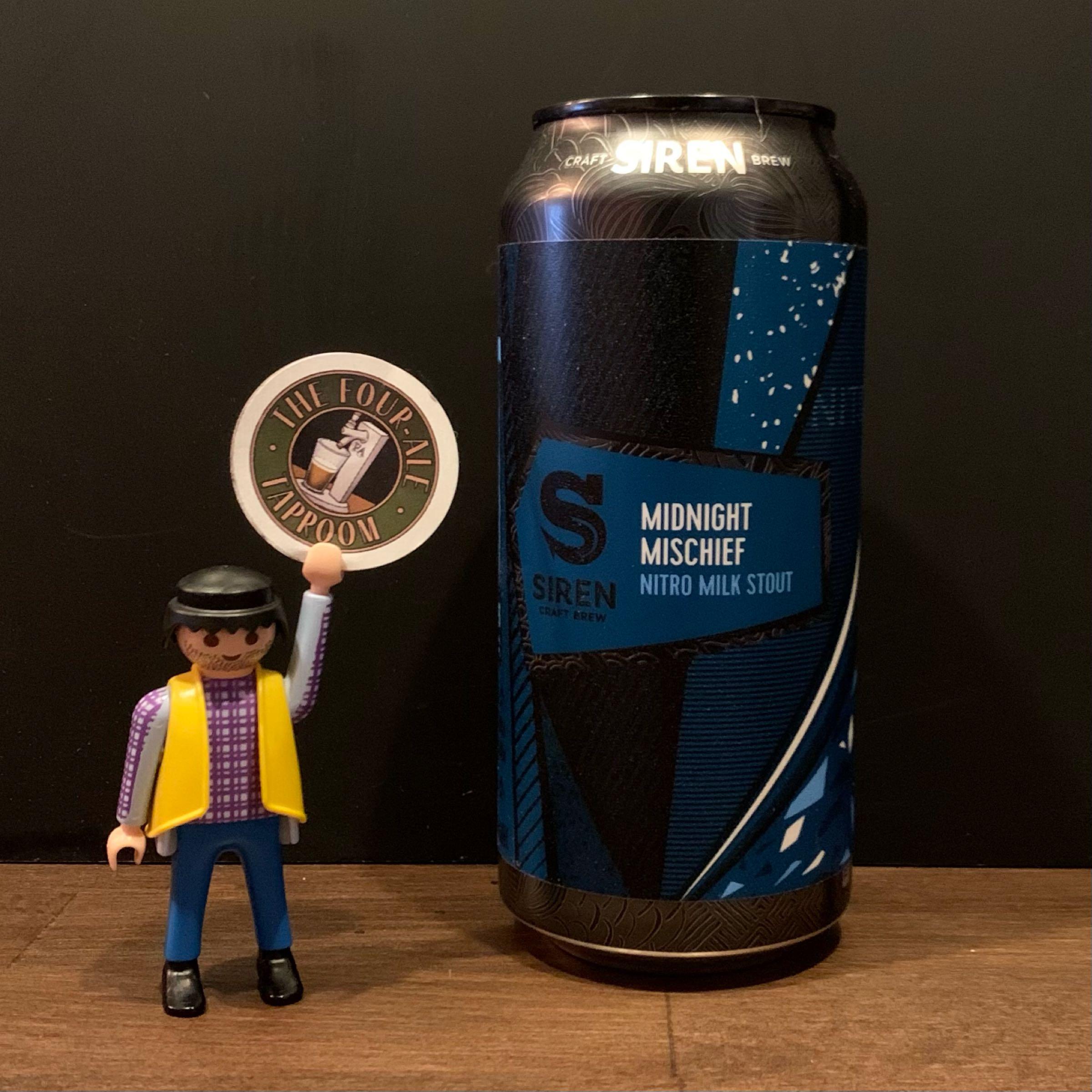 Siren Craft - Midnight Mischief - Milk Stout - 4.7%