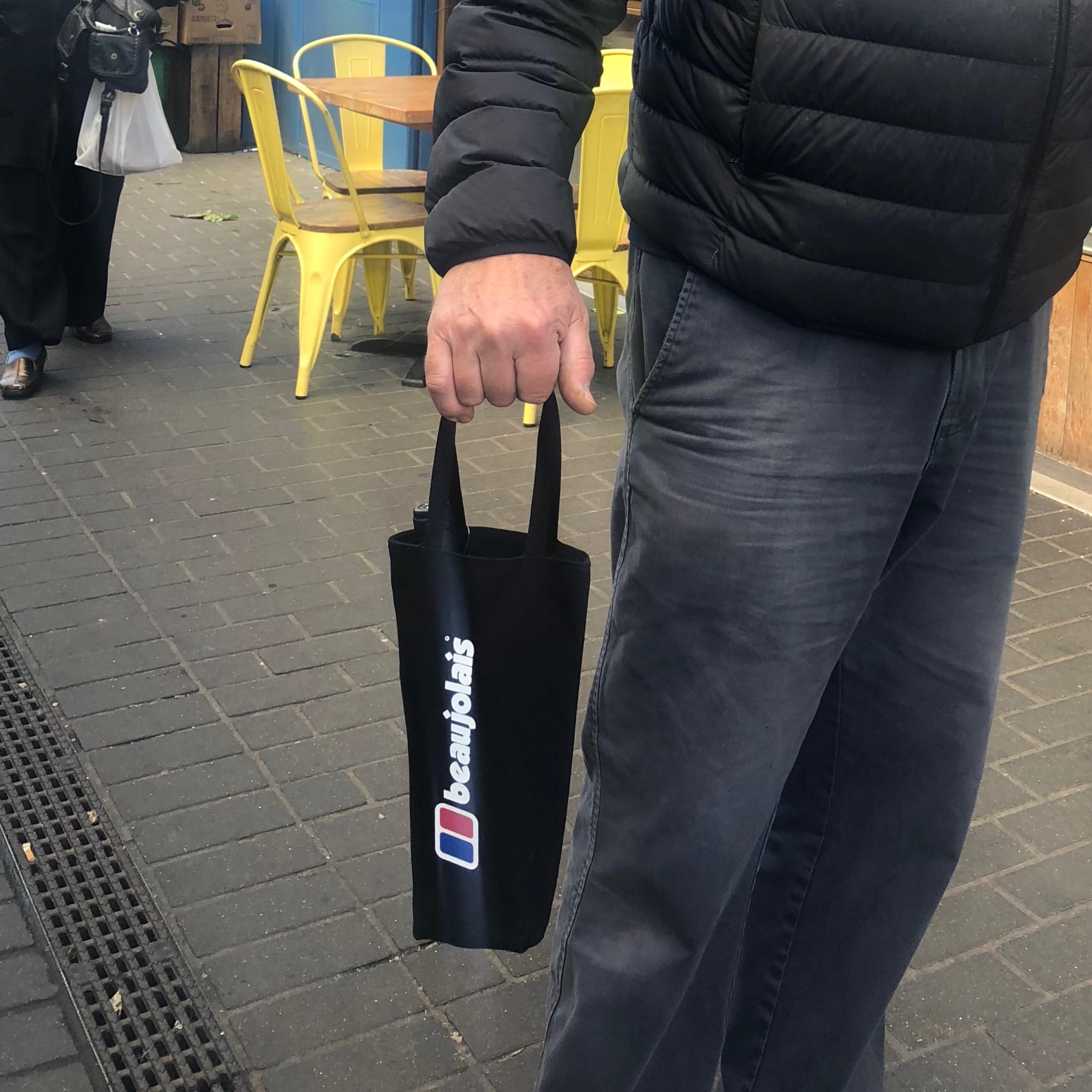 Beaujolais Bottle Bag