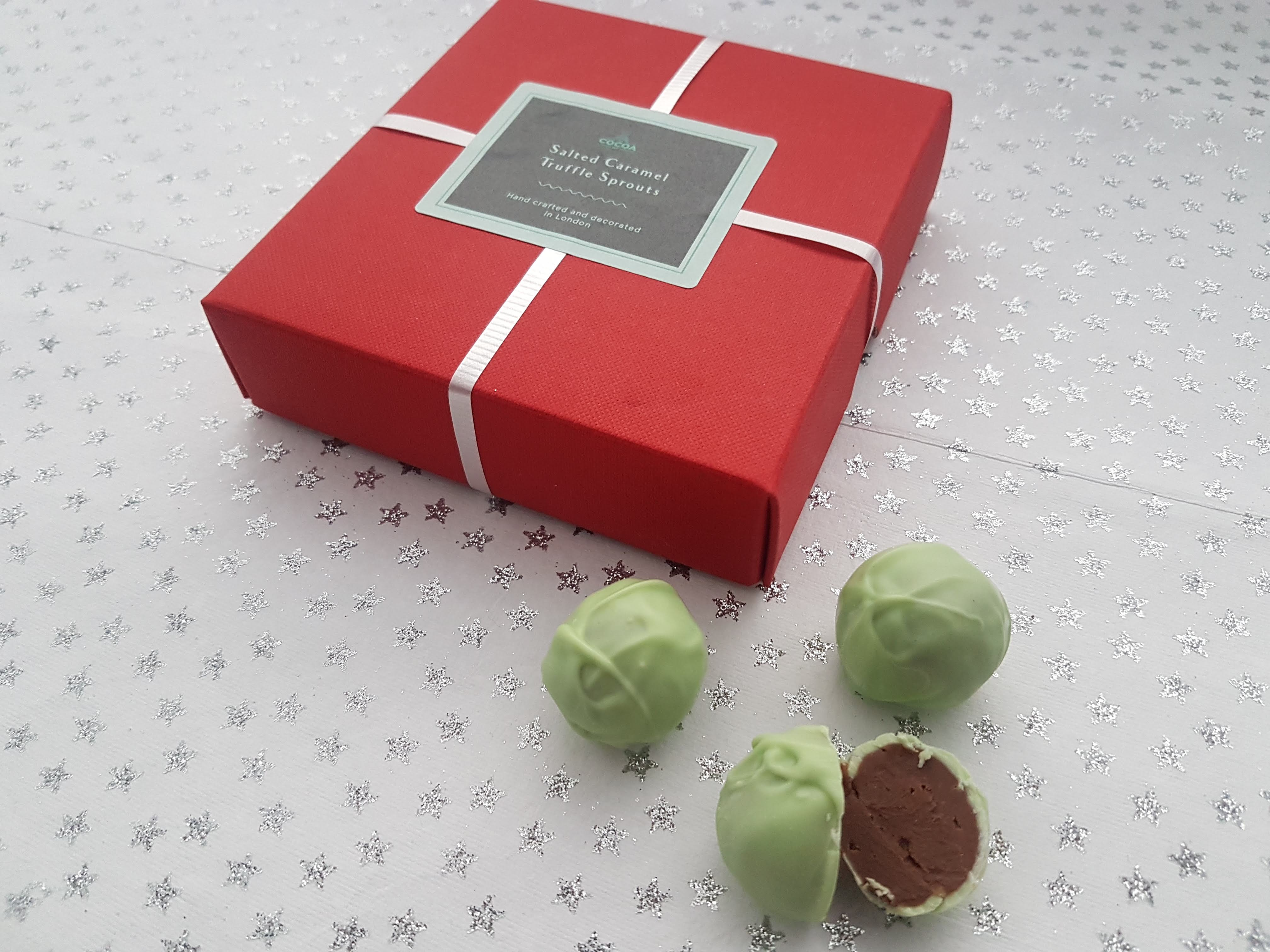 The Cocoa Den Salted Caramel Truffle Sprouts