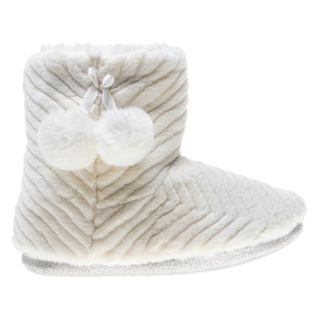 Dunlop Margo faux fur boot slipper