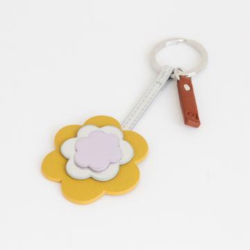 Caroline Gardner flower keyring