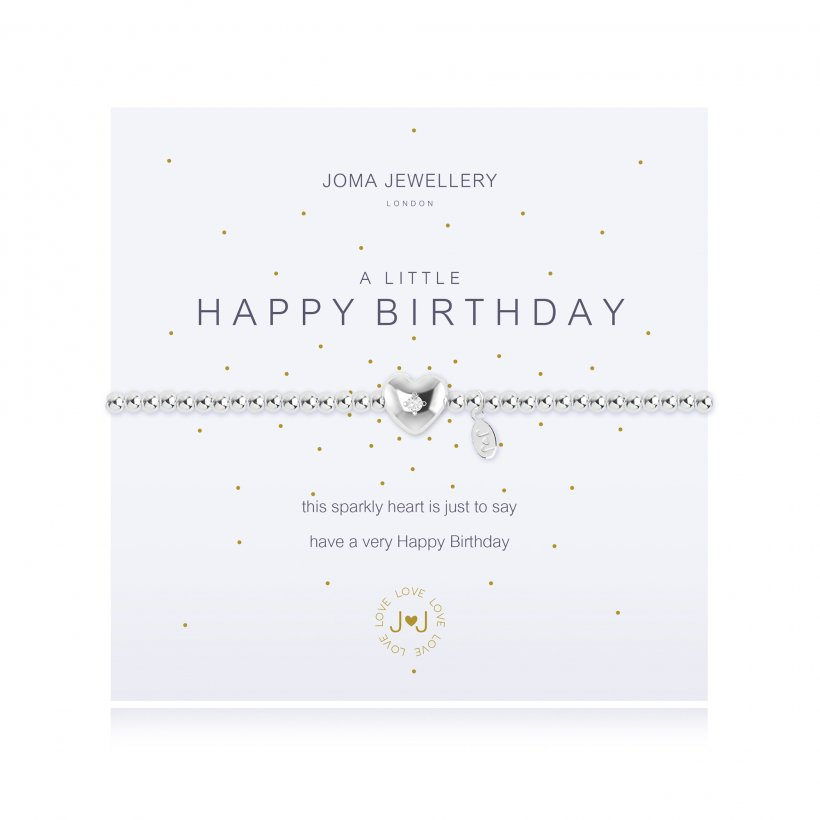 Joma Jewellery Happy Birthday bracelet