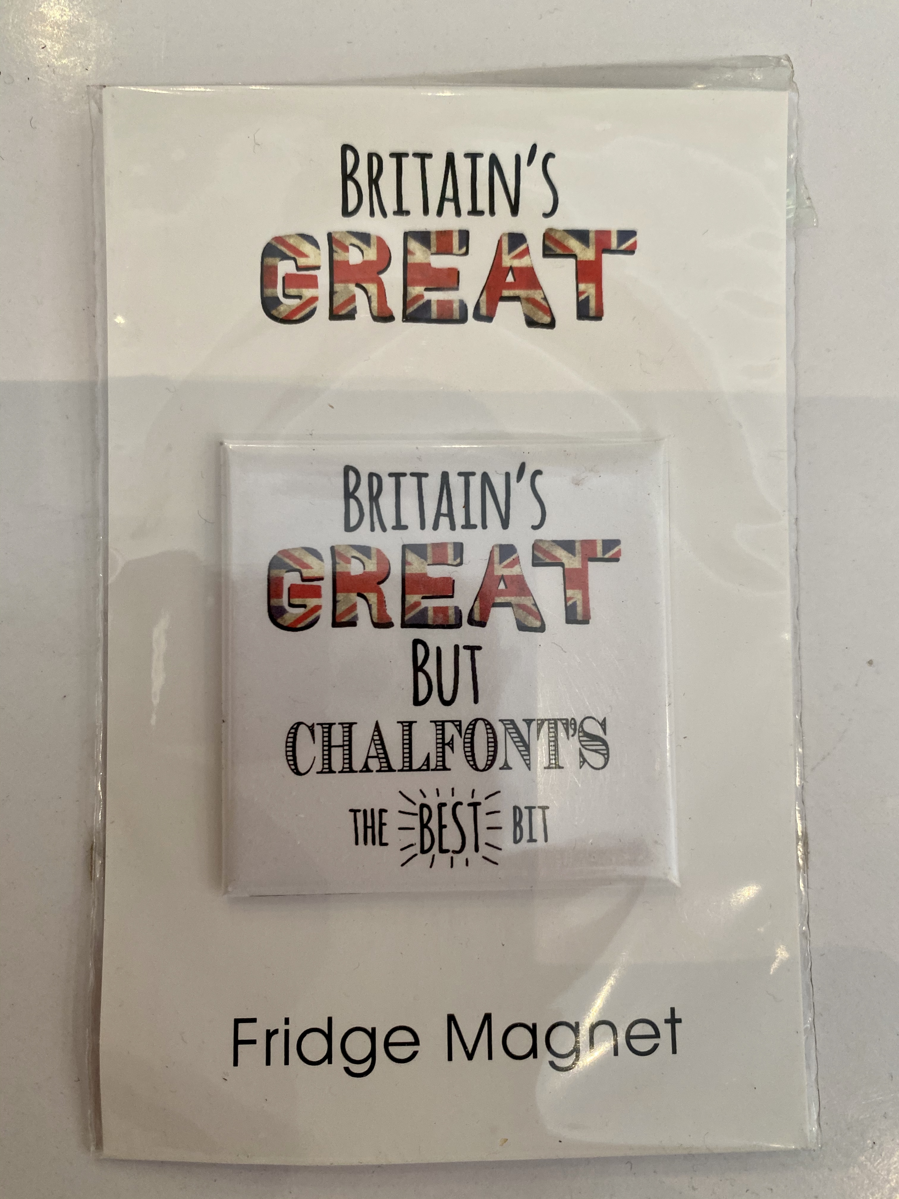 Chalfont fridge magnet