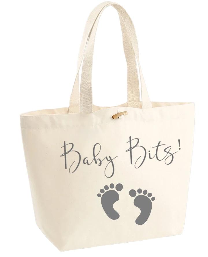 Organic cotton Baby bits bag