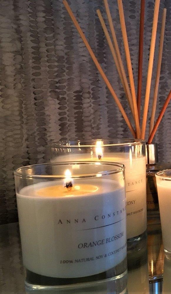 Anna Constance luxury scented candle